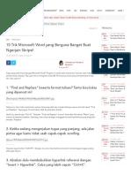 10 Trik Microsoft Word Yang Berguna Banget Buat Ngerjain Skripsi! _ IDN Times
