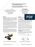 IWCS - Halme_Mund - EMC of Cables, Connectors