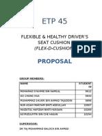 UTP ETP45 FLEX-D-CUSHION