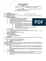 Contract of Employment Factory-5 Days