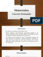 3 Materiales Concreto Preforsado