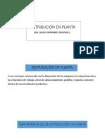1. Generalidades de Dist Planta