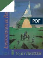 Administración de Personal, 6ta Edición - Gary Dessler.pdf
