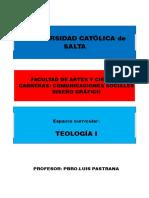 Modulo Teología