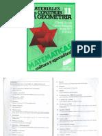 Varios - Cultura Y Aprendizaje 11 - Materiales Para Construir La Geometria.pdf