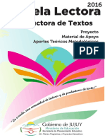 La Escuela Lectora y Productora de Textos
