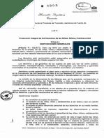 Ley Provincial Nna