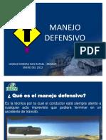 MANEJO DEFENSIVO