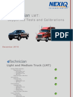 ETechnician LMT Supported Tests and Calibrations Dec_2016