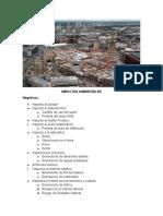 Impactos Ambientales de Un Edificio