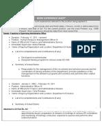 PDS-Work Experience Sheet (2)