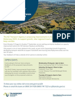 Community information and questionnaire - SH22 Drury to Paerata