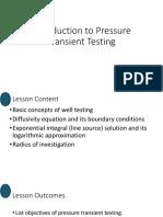 6.5. Introduction to Transient Testing Recap