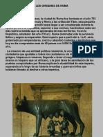 Arte y Arquitectura de Roma 1