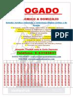 Cartel Abogado a Domicilio