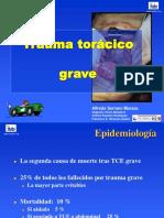 Trauma Toracico Basado en La Evidencia Cordoba 20041116