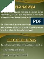 PRESENTACION RECURSOS NATURALES
