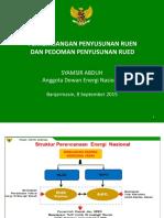 2 - Perkembangan RUEN Dan RUED