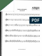 Lenguaje musical Primer nivel - leccion 1 entonar