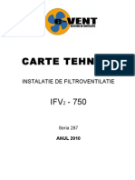 Carte Tehnica IFV2 750 ( NOUA )