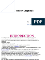 Infertility in Men Diagnosis