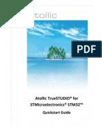 Atollic TrueSTUDIO for STMicroelectronics STM32 QuickstartGuide