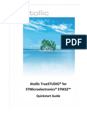 Atollic TrueSTUDIO for STMicroelectronics STM32