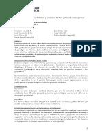UP 2015-1 Silabo Procesos Históricos y Económicos 3 S
