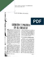 Ejército y política en el Uruguay- Carlos Real de Azúa.pdf