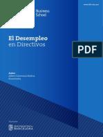 04. El Desempleo en Directivos_Informe OBS Business School