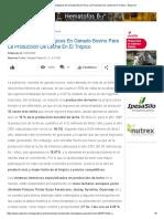 Cruzamientos Estratégicos en Ganado Bovino Para La Producción de Leche en El Trópico - Engormix