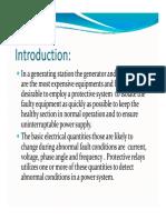 Alternator Protection Ppt PDF