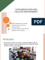 09 Contaminación Del Suelo en Monterrey