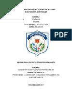 caratula cooperso informe