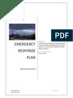 Emergency Response Plan (ERP)