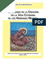 Cuidado de la creación en la vida cotidiana de los Hermanos Menores. 2011.pdf