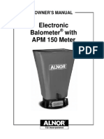 Alnor Apm150 User Manual
