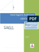 Handhygiene Manual Audit Tool