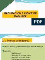 Indice de Maduracion b