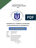 Villarroel Silvestre Antony Juan - Rocas Sedimentarias