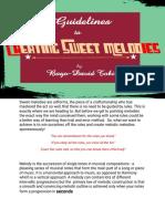 Creating Sweet Melodies