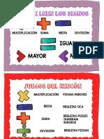 Operaciones Matemáticas Sencillas 2 PDF
