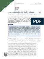 Sindromul metabolic- articol publicat recent