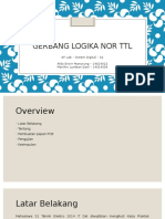 Gerbang Logika NOR TTL Final