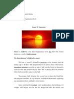 EXPLANATION TEXT SUN SET.docx