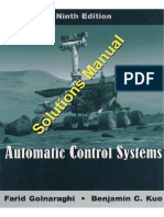 Automatic Control Systems 9th Edition