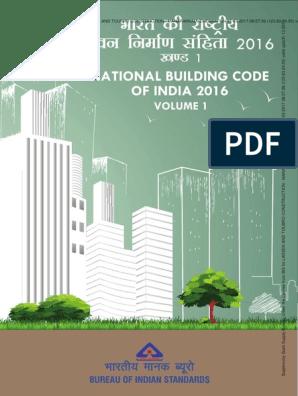 NBC 2016-VOL 1 pdf pdf | Building Code | Accessibility