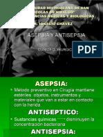 Asepsia y Antisepsia