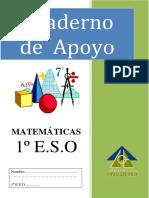 Cuaderno de apoyo matematicas 1 ESO