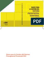 Bases para la Gestión del Sistema presupuestal territorial.pdf